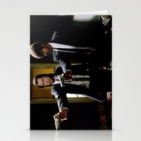 pulp fiction Stationery Cards featuring Pulp Fiction by Susan Lewis