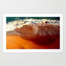 Ocean Trauma Art Print