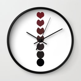 Evolution and Love Wall Clock