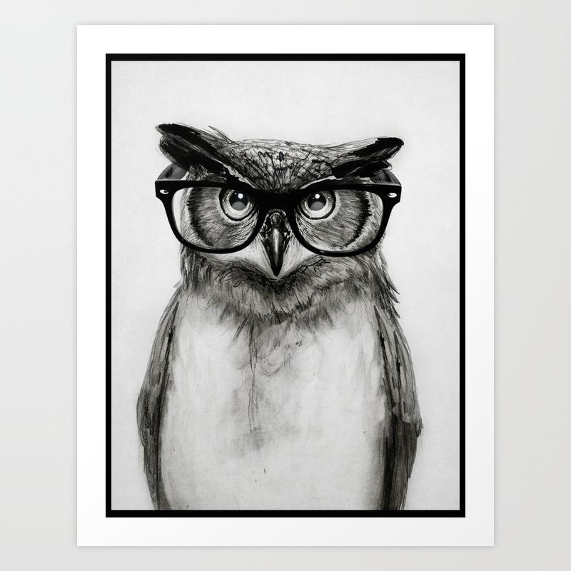 black white and humor art prints society6