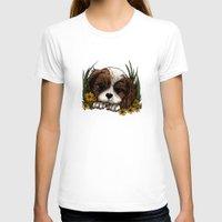 puppy T-shirts featuring Puppy by Adamzworld