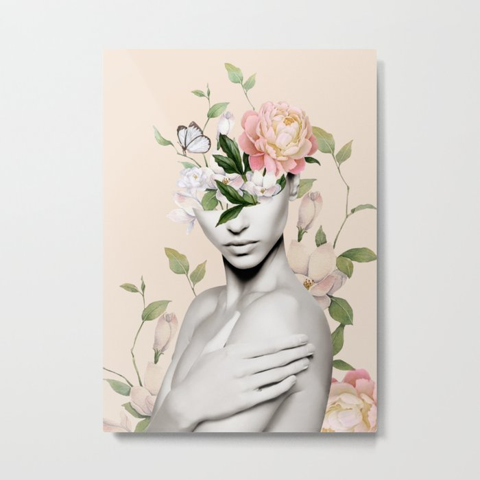 Floral beauty 6 Metal Print
