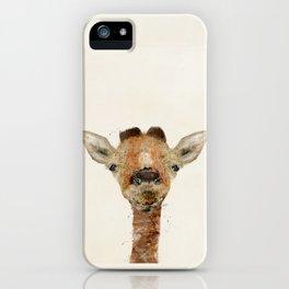 little giraffe iPhone Case