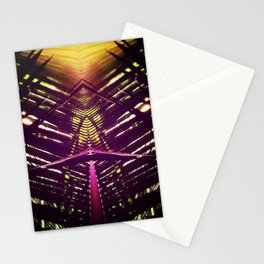 kaleidoscope palm Stationery Cards