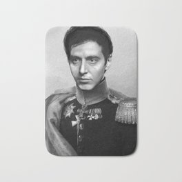 Al Pacino Scar Face General Portrait Painting | Fan Art Bath Mat