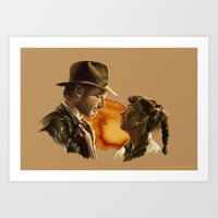 Indy and Marion Art Print