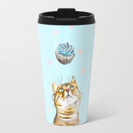 Cat Lover Cake Travel Mug
