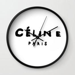 celine.paris Wall Clock