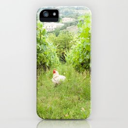 Why Did The Chicken Cross The Grape Vines? iPhone Case