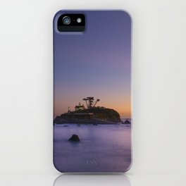 Battery Point Lighthouse, Crescent City, Del Norte County, California iPhone Case