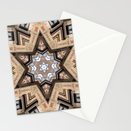 Architectural Star of David Stationery Cards