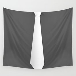 White tie Wall Tapestry