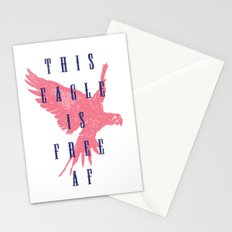 This Eagle Is Free AF Stationery Cards