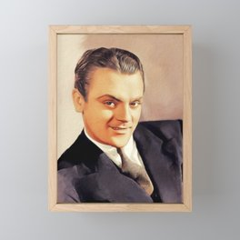 James Cagney, Actor Framed Mini Art Print