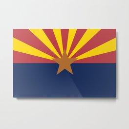 Flag of Arizona Metal Print