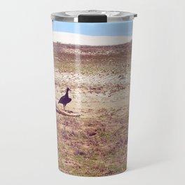 Vultures on Donkey Travel Mug