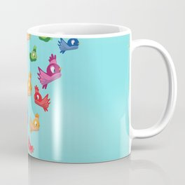 Vintage Love birds Coffee Mug