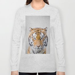 Tiger - Colorful Long Sleeve T-shirt
