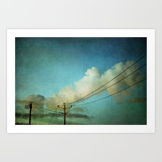 Late Evening Sky Art Print