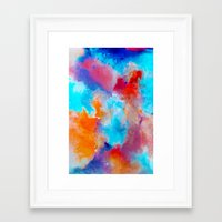 blush Framed Art Prints featuring Blush by Kimsey Price