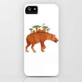 African Hyena iPhone Case
