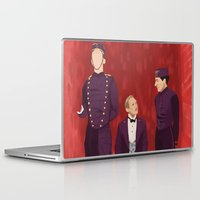 the grand budapest hotel Laptop & iPad Skins featuring The Budapest by Jenna McCloskey