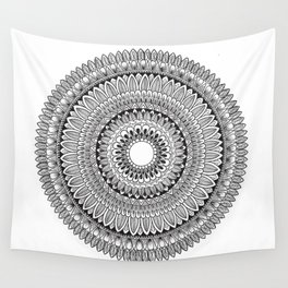 Leaved Mandala Original Wall Tapestry