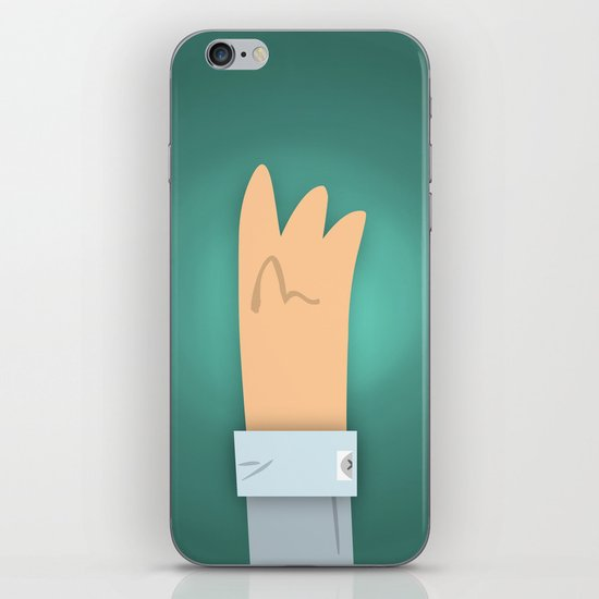 Lefty iPhone Skin