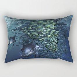 SAILFISH HUNTER Rectangular Pillow