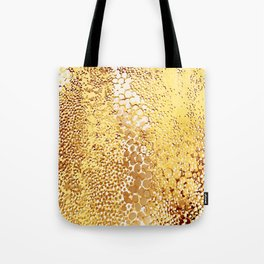 gush of dots in yellow Tote Bag