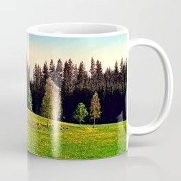 Outdoors in sunny spring Coffee Mug