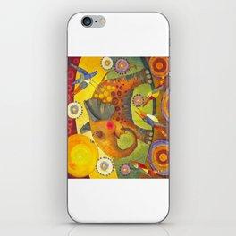 Enamored elephant iPhone Skin