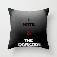 THE DARKSIDE Throw Pillow