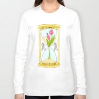 the cure Long Sleeve T-shirts featuring Parkinson's Find a Cure by J&C Creations