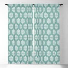 Hekse | Teal Blackout Curtain