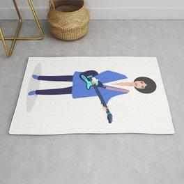 The artist Rug