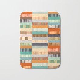 Fall Grandmother's Quilt Bath Mat