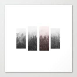 Piece of a forest Canvas Print