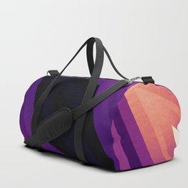 stripes wave pattern 6v3 ls Duffle Bag
