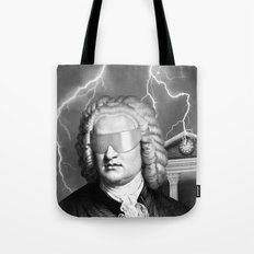 Bach To The Future (New Version) Tote Bag