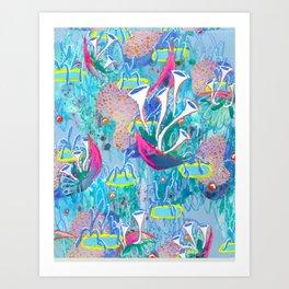 Alien Organism 31 Art Print