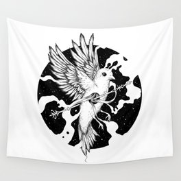 Spilled Existence Wall Tapestry