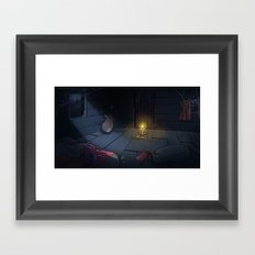 The Midnight Man Framed Art Print