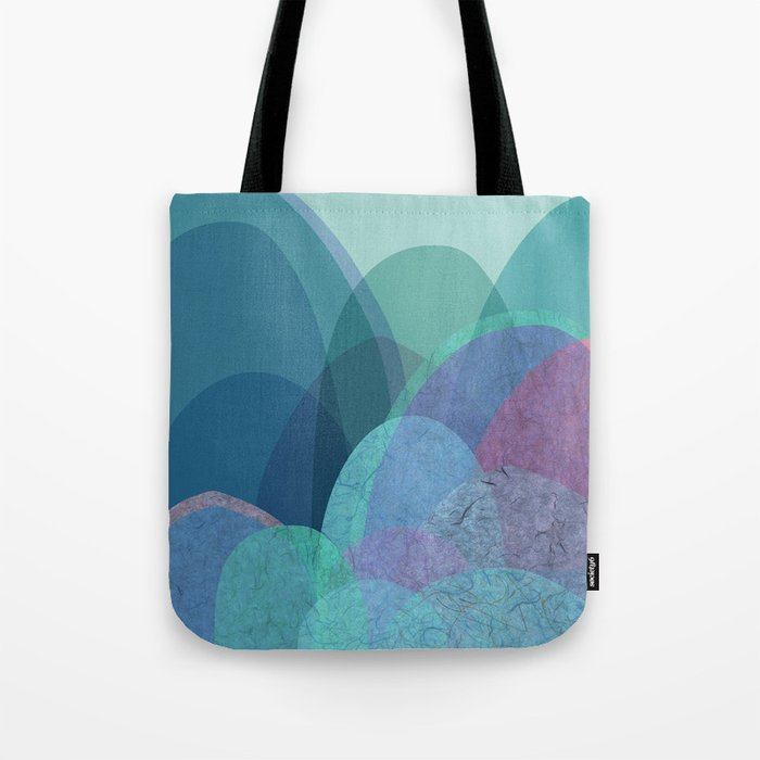 It is not the mountain we conquer but ourselves Tote Bag