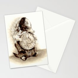 Baby niffler Stationery Cards