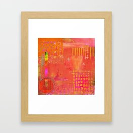 Hotness Framed Art Print