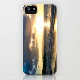 Poolenalena Beach Sunset Makena Maui Hawaii iPhone Case