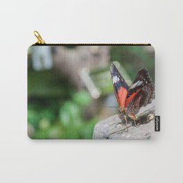 Red Lacewing Butterfly Carry-All Pouch
