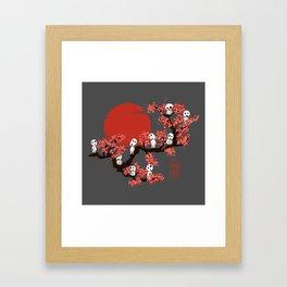 Traditinal Kodamas Framed Art Print