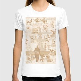 Love And Adventure In Animation T-shirt